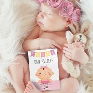 Milestone kartice za bebe
