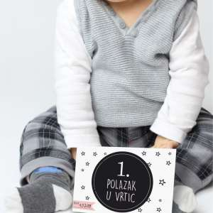 milestone baby kartice