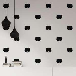 Naljepnice-mačke-crna-boja