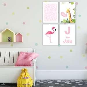 Dekoracije_za_dečiju sobu_flamingo