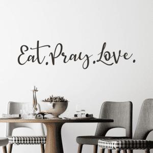Naljepnica Eat Pray Love