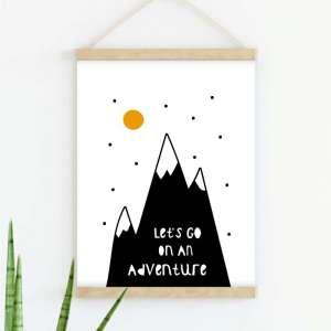 Sretni poster Adventure