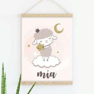 Sretni poster Ovčica