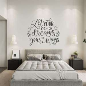 Zidna naljepnica Dreams Wings