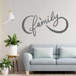Zidna naljepnica Family is Forever