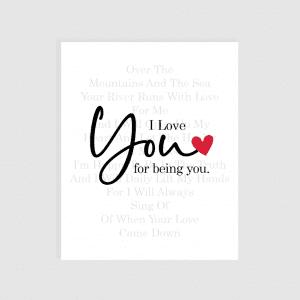 Ljubavna Poruka - I Love You