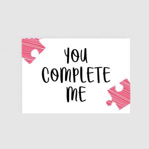 Ljubavna Poruka - You Complete Me