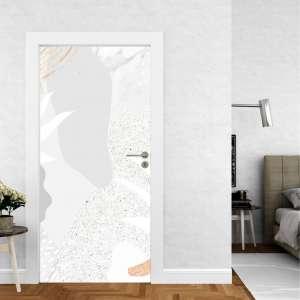 Abstract Art - Naljepnica za Vrata