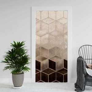 Abstract Hex - Naljepnica za Vrata