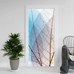 Abstract Leaf - Naljepnica za Vrata
