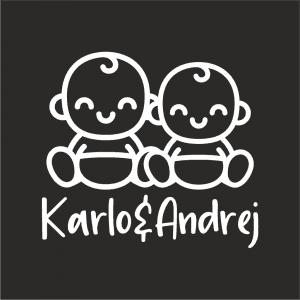 Naljepnica Beba u Autu - Braco & Braco