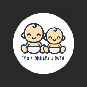Naljepnica Beba u Autu - Braco & Braco 1
