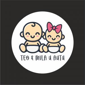 Naljepnica Beba u Autu - Braco & Seka 1