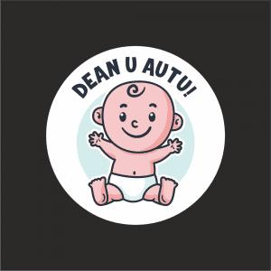 Naljepnica Beba u Autu - Dječak 1