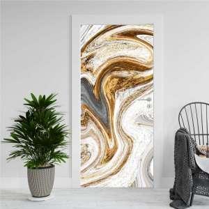 Luxury Abstract - Naljepnica za Vrata