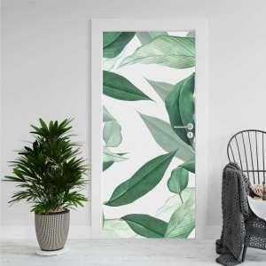 Tropical Leaves - Naljepnica za Vrata