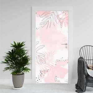 Tropical Pink - Naljepnica za Vrata