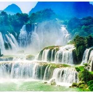 Foto tapeta Waterfall Zen