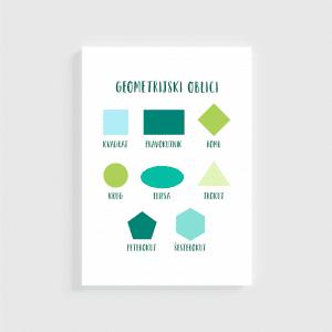 Vesela učilica - Geometrijski Oblici